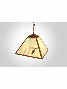 PONDEROSA PINE SWAG LIGHT