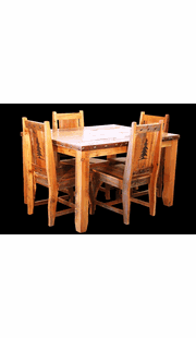 RECLAIMED BARN WOOD DINING SET