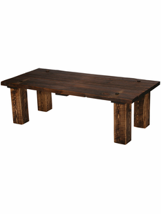 RUSTIC HERITAGE BARN DOOR COFFEE TABLE