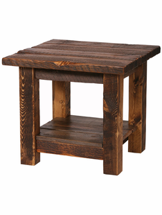 RUSTIC HERITAGE END TABLE