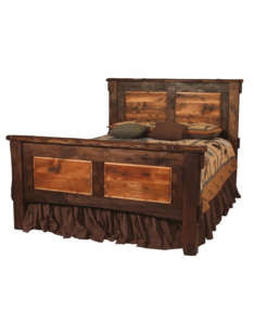 RUSTIC WALNUT BEDS