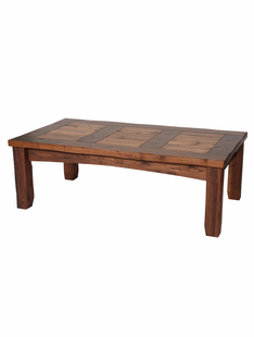 RUSTIC WALNUT COFFEE TABLE