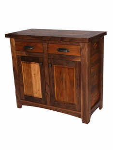 RUSTIC WALNUT SMALL BUFFET