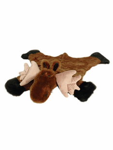 "SMALL MOOSE RUG 24""X36"""