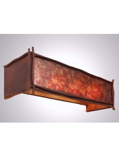 STICKS RUSTIC STEEL VANITY LIGHT