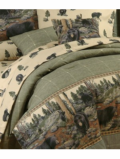 THE BEARS BED SET TWIN