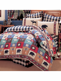 THE WOODS BED SET TWIN