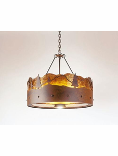 "TIMBER RIDGE CHANDELIER-24""H X 24""D"