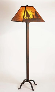 TIMBER RIDGE FLOOR LAMP