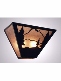 TIMBER RIDGE- TAPERED SCONCE