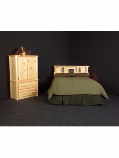 TIMBERLINE BOOKCASE HEADBOARDS