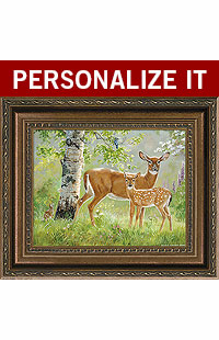 Tree Of Life � Whitetail Deer PERSONALIZED ART