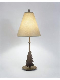 "TREE TABLE LAMP 30""H X 13""W"