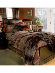 Twin Bear Country Bedding Set
