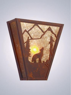 VEGAS BARK  AT  THE  MOON SCONCE