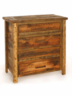 WEATHERED TIMBER 3 DRAWER CHEST