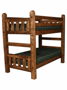 WEATHERED TIMBER BUNKBEDS