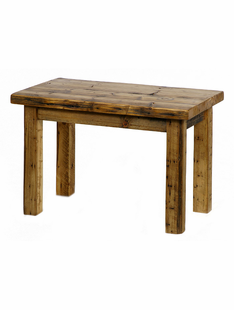 WEATHERED TIMBER END TABLE