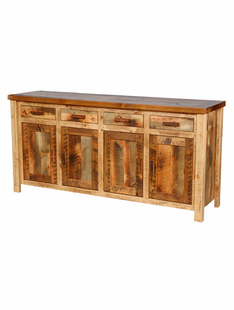 WEATHERED TIMBER LARGE BUFFET
