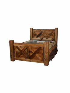 WEATHERED TIMBER PIONEER BEDS