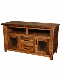 WEATHERED TIMBER TV CONSOLE