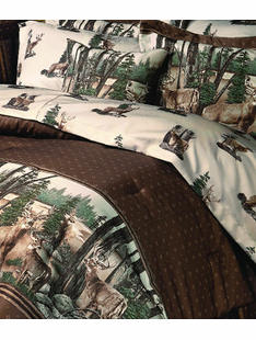 WHITETAIL DREAMS BED SET TWIN