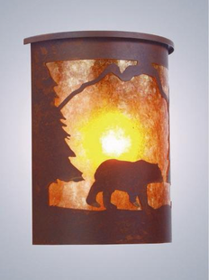 WILLAPA BEAR SCONCE