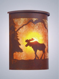 WILLAPA MOOSE SCONCE