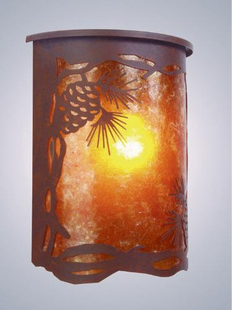 WILLAPA PINECONE SCONCE