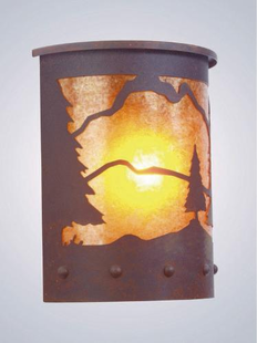 WILLAPA TIMBER  RIDGE  SCONCE