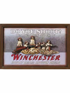 WINCHESTER SHOOTING SIGN
