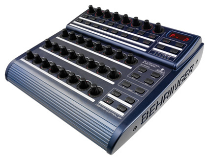 behringer bcr2000 total recall usb midi controller desk with 32 illuminated rotary encoders. Black Bedroom Furniture Sets. Home Design Ideas
