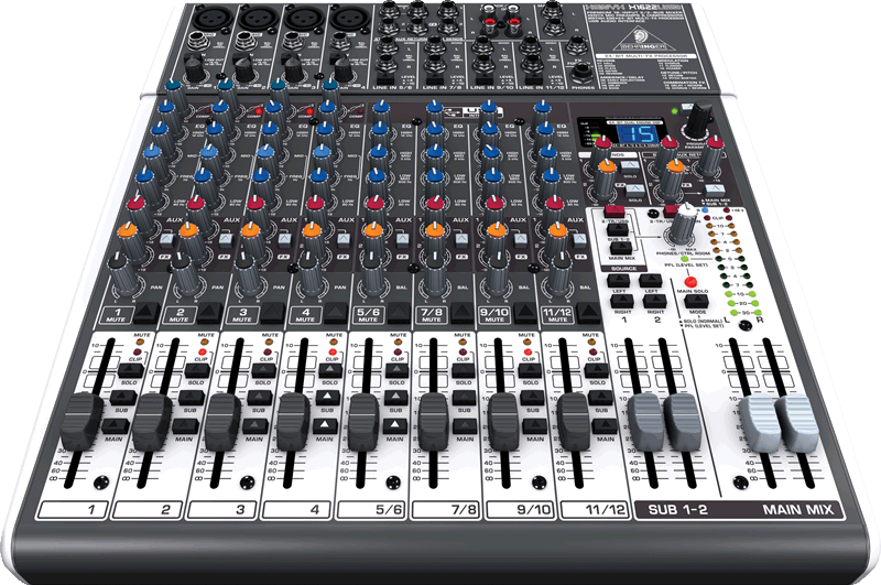 behringer x1622usb premium 16 input 2 2 bus mixer with xenyx mic preamps compressors. Black Bedroom Furniture Sets. Home Design Ideas