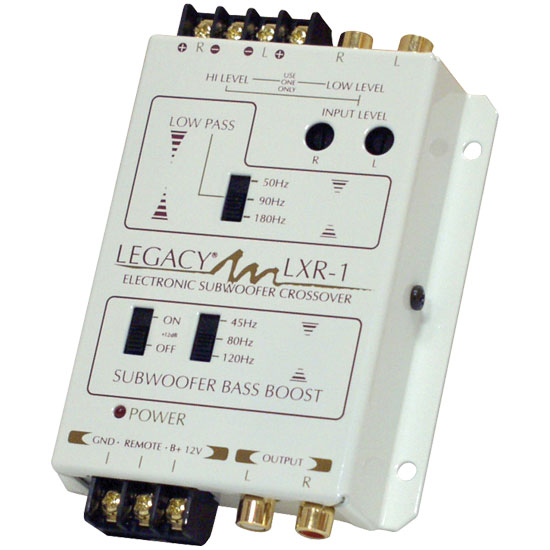 Electronic Crossover Network : Legacy lxr electronic subwoofer crossover network