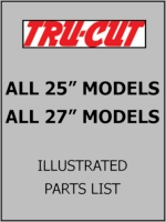 "All 25"" & 27"" Tru-Cut Reel Mowers"