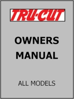 TRU-CUT OWNERS MANUAL