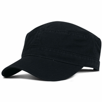 Fahrenheit Garment Washed Cotton Military Cap