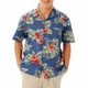 Personalized Adult Floral Print Camp Shirt