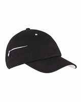 Personalized Big Accessories Chino Stash Pocket Cap