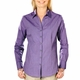 Personalized Blue Generation Ladies Heathered Crossweave Shirt