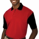 Personalized Blue Generation Men's IL-50 Colorblock Polo Shirt