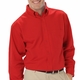Personalized Blue Generation Men's Long Sleeve Easy Care Poplin Shirt With Matching Buttons