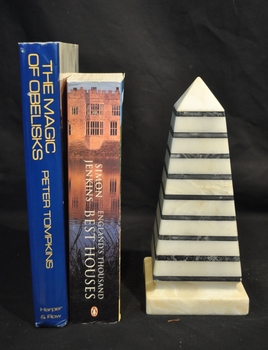 Striped Marble Obelisk (2)