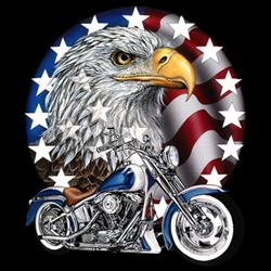 Wholesale T Shirts - Patriotic Biker T Shirts - MSC Distributors