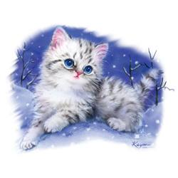 Winter Kitten T Shirts Apparel, Wholesale T Shirts, Bulk T Shirts, Miscellaneous T-Shirts - 16547I4-1