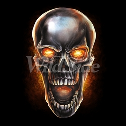 Skull Clothing T Shirts - Suppliers Wholesale - Candy Skull - 19549