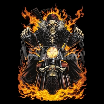 Bulk, Apparel - Wholesale Boutique Clothing, Motorcycle Flames Men at Cheap Price From - MSC Distributors.com - 19552