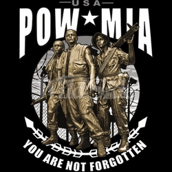 Pow Mia US Military T Shirts Suppliers, Apparel, Wholesale, Gildan, Hoodies, Sweatshirts, Big and Tall, Long Sleeve, Short Sleeve, Men's, Ladies, Kid's - MSC Distributors