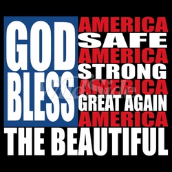 God Bless America T-Shirts, Tees, Hats, Patriotic, American Flag, Cheap, Online, Wholesale - 19927
