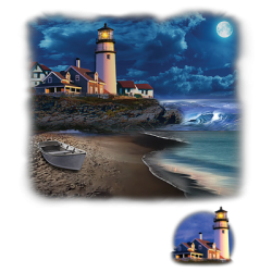 Shop Lighthouse Design T-Shirts & Shirt Designs, Custom T-Shirts, Wholesale Bulk T Shirts Cheap - 20470HL2